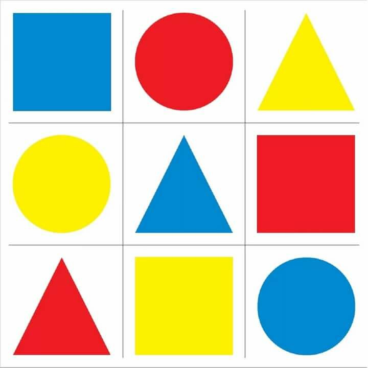 Маленькие геометрические фигуры картинки