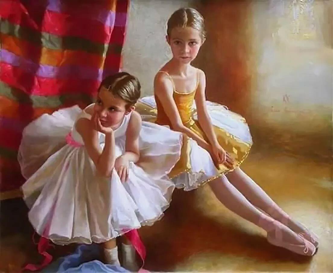 Картинка маленькие балерины