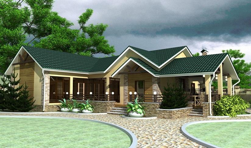 фото красивых крыш угловых домов рамка шебби шик