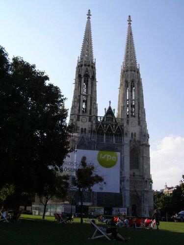 церковь вотивкирхе вена австрия