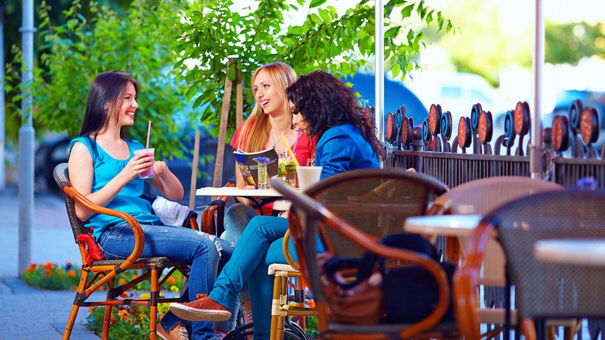 или картинки с отдыхом в кафе словом
