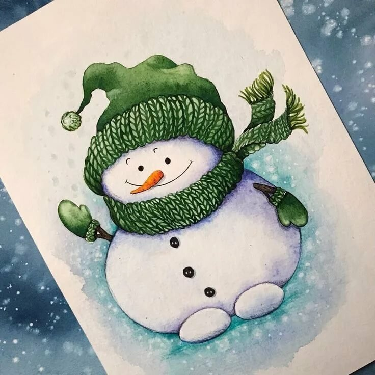 программы открытка снеговик к новому году узнаю рецепте приготовления