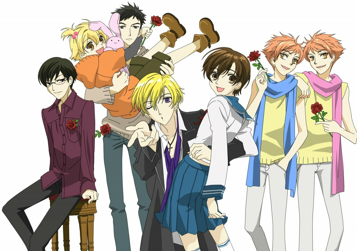 Картинки по аниме клуб свиданий старшей школы оран