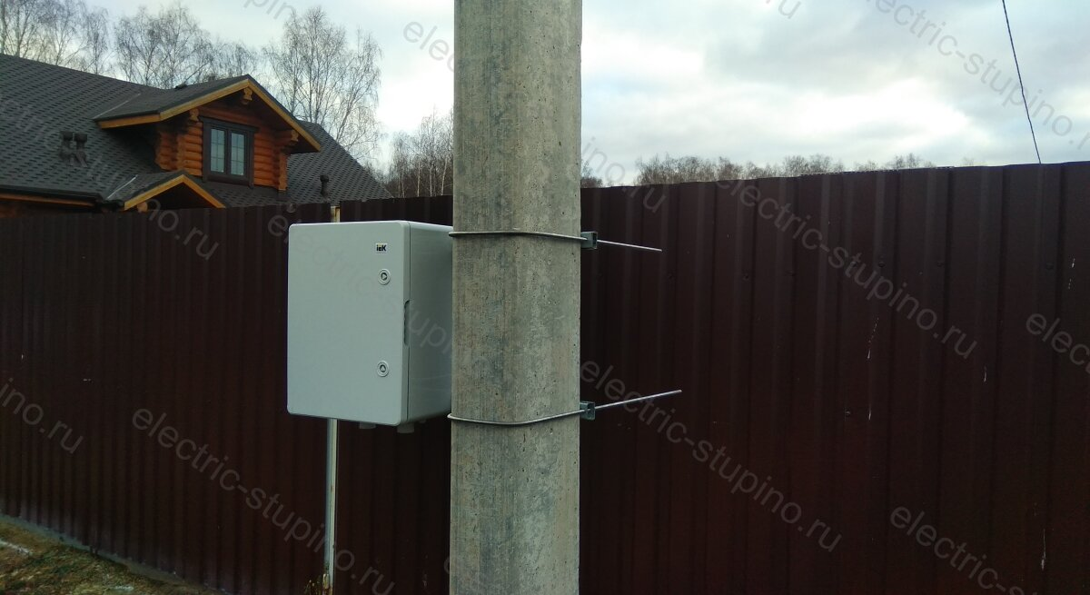 Установка электрощита на 15 кВт на даче своими руками