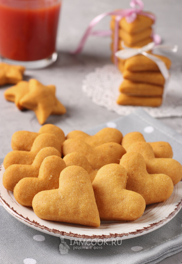 Рецепт в картинках постного печенья