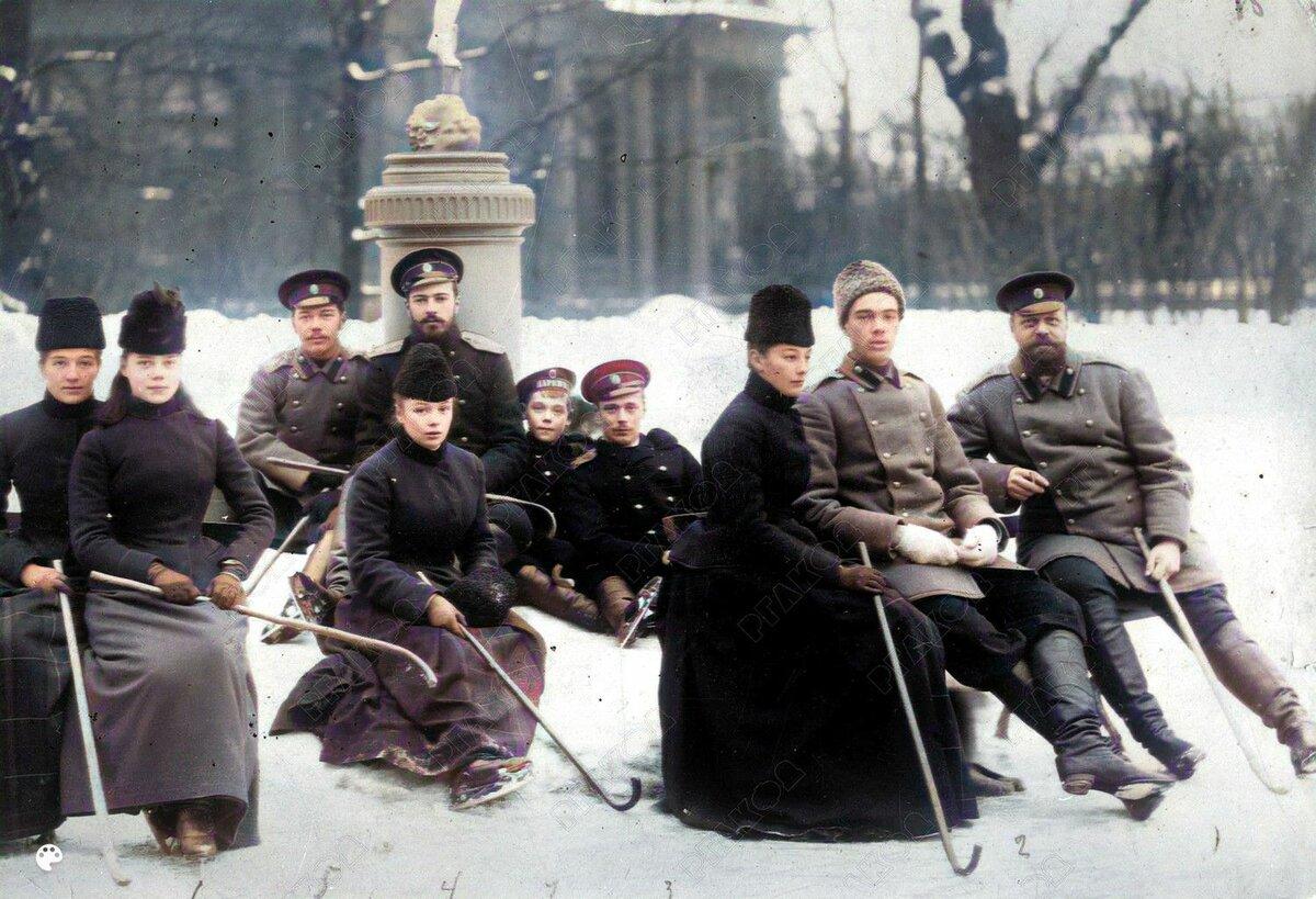 фото царской россии в цвете пути