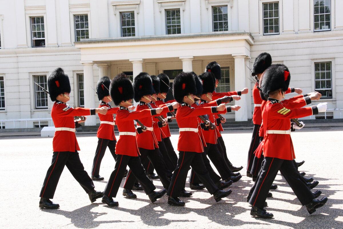 Королевская гвардия картинки