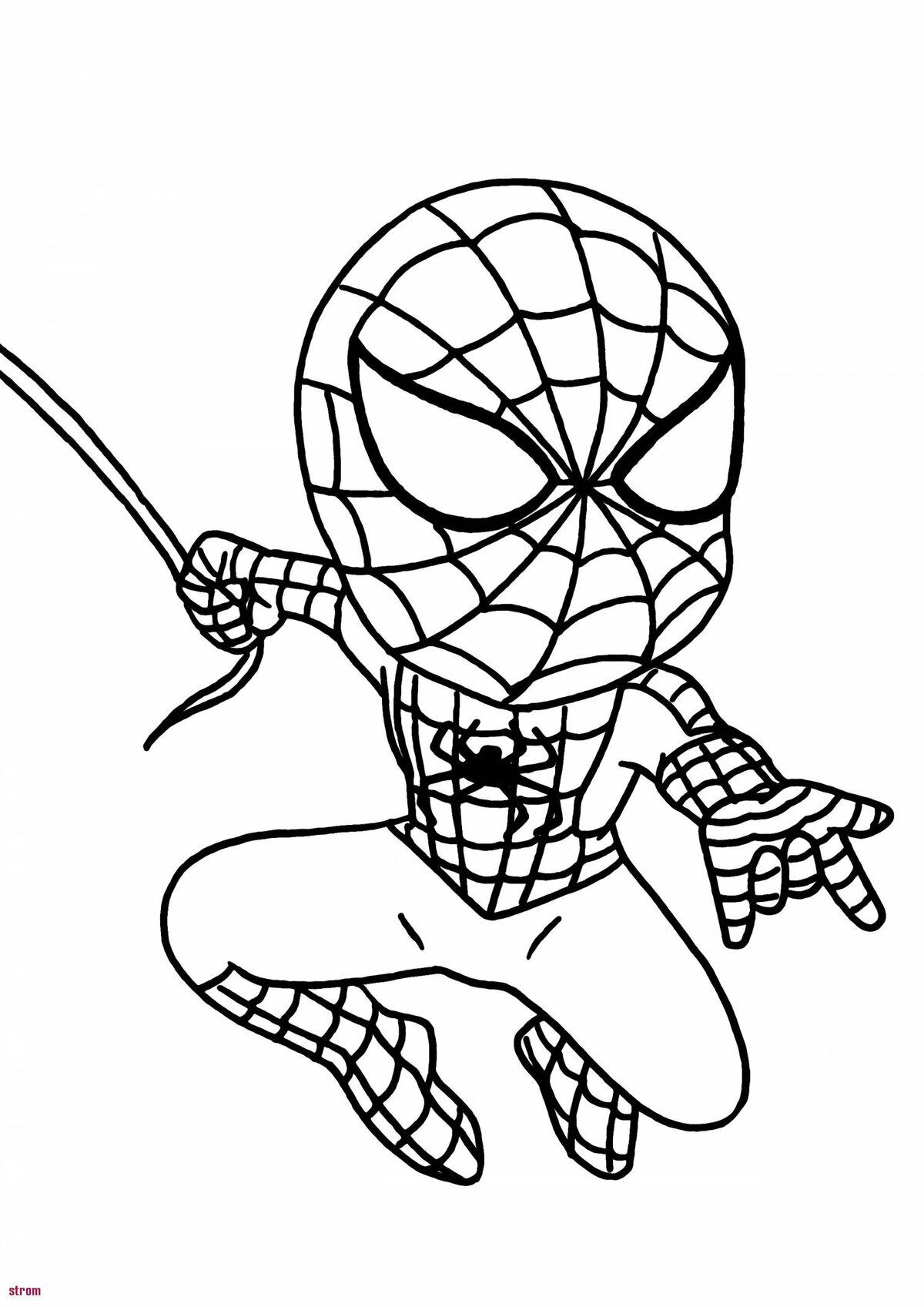 рисунки человек паук раскраска что