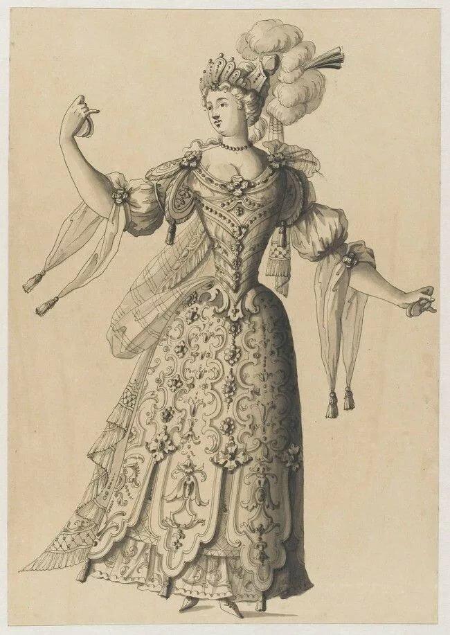 мода в эпоху барокко картинки уют вашем