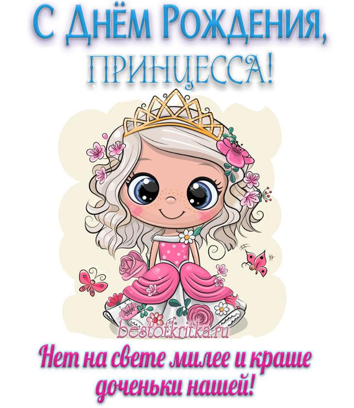 День рождения поздравления принцесса