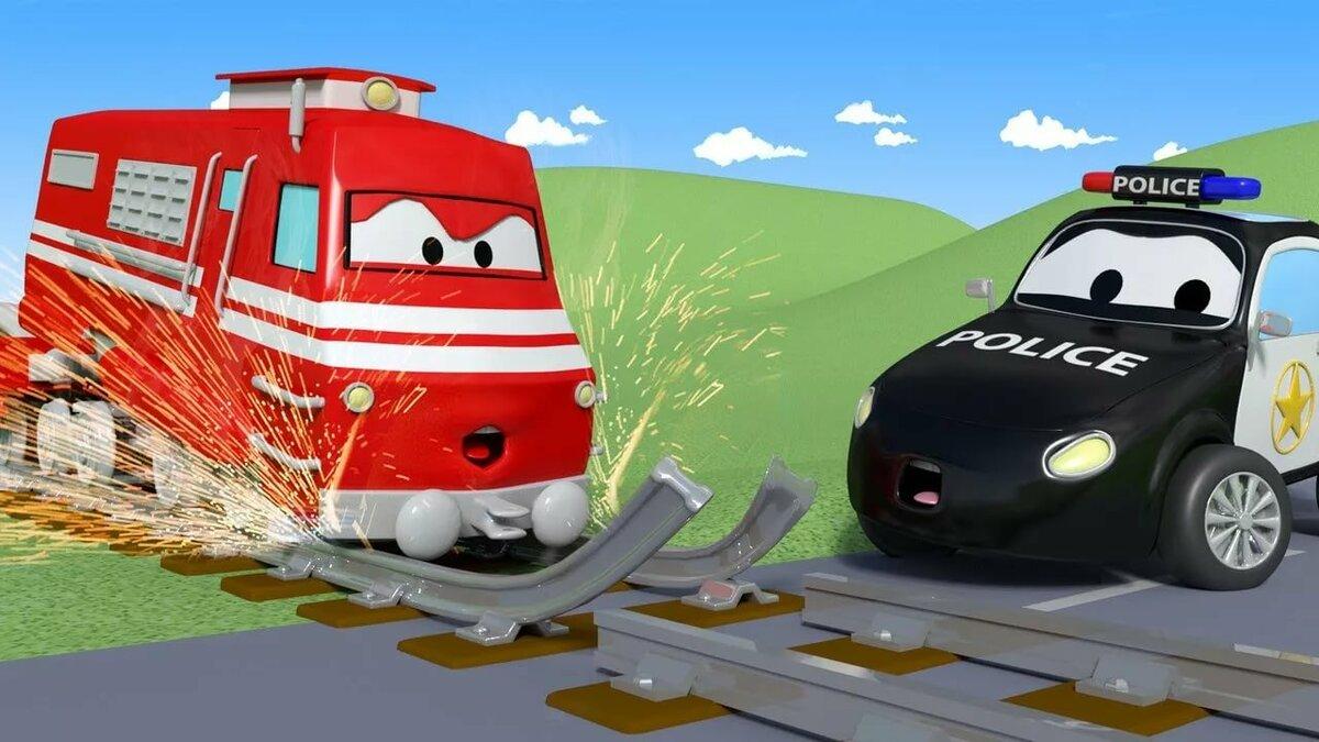 Автомобильный город мультфильм картинки