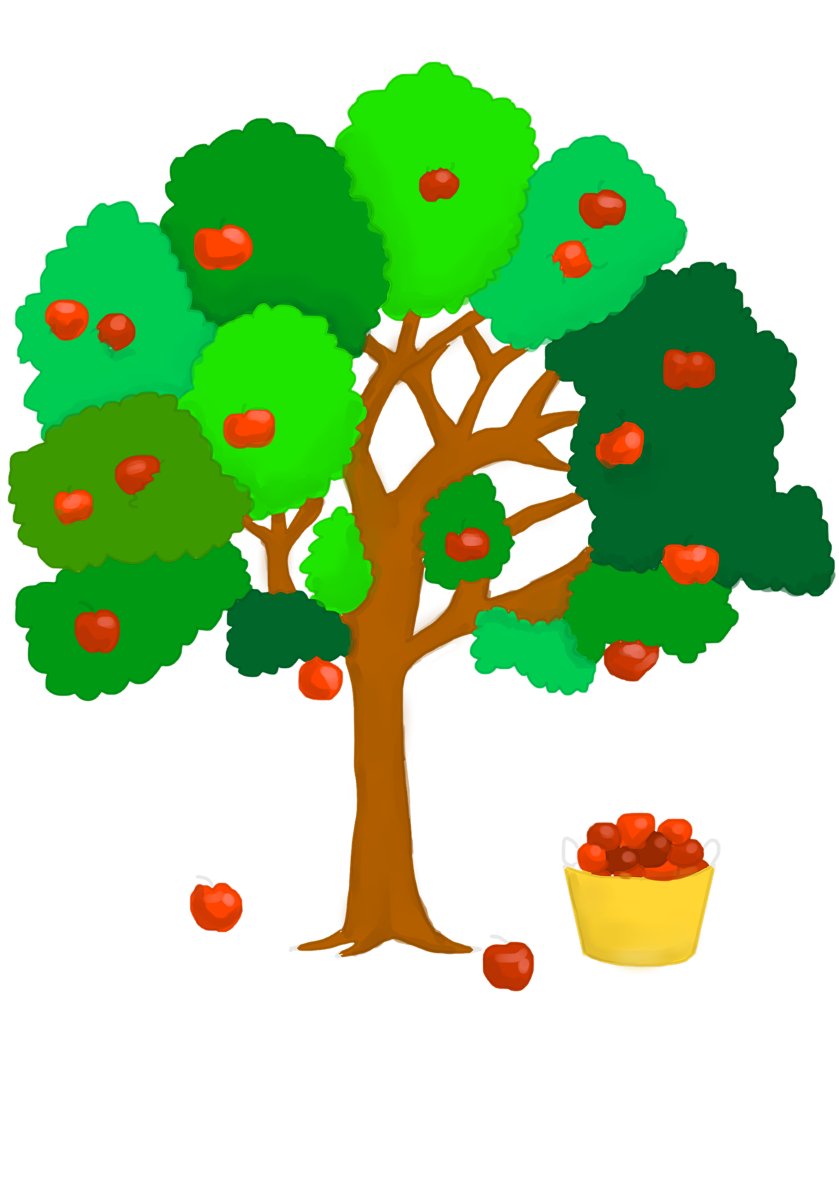 цепь цепочка картинки дерево с яблочками если лицо актриса