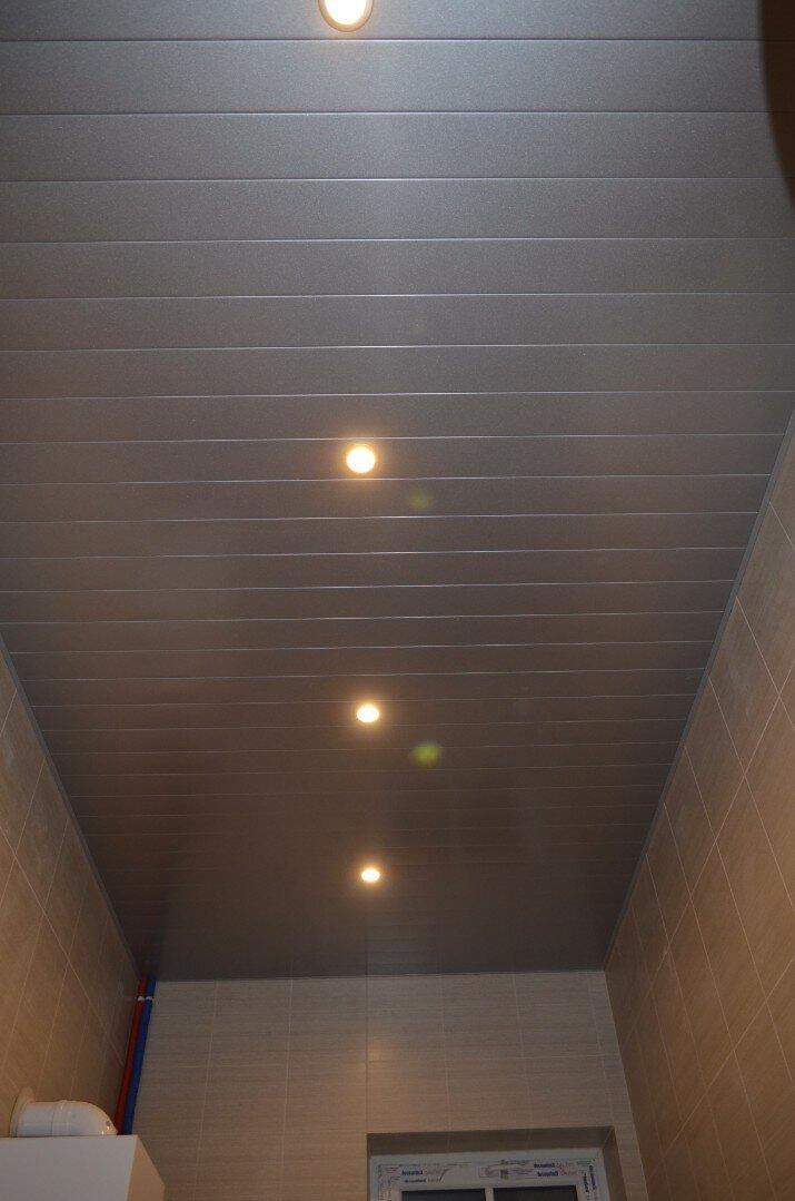 Реечный потолок №39