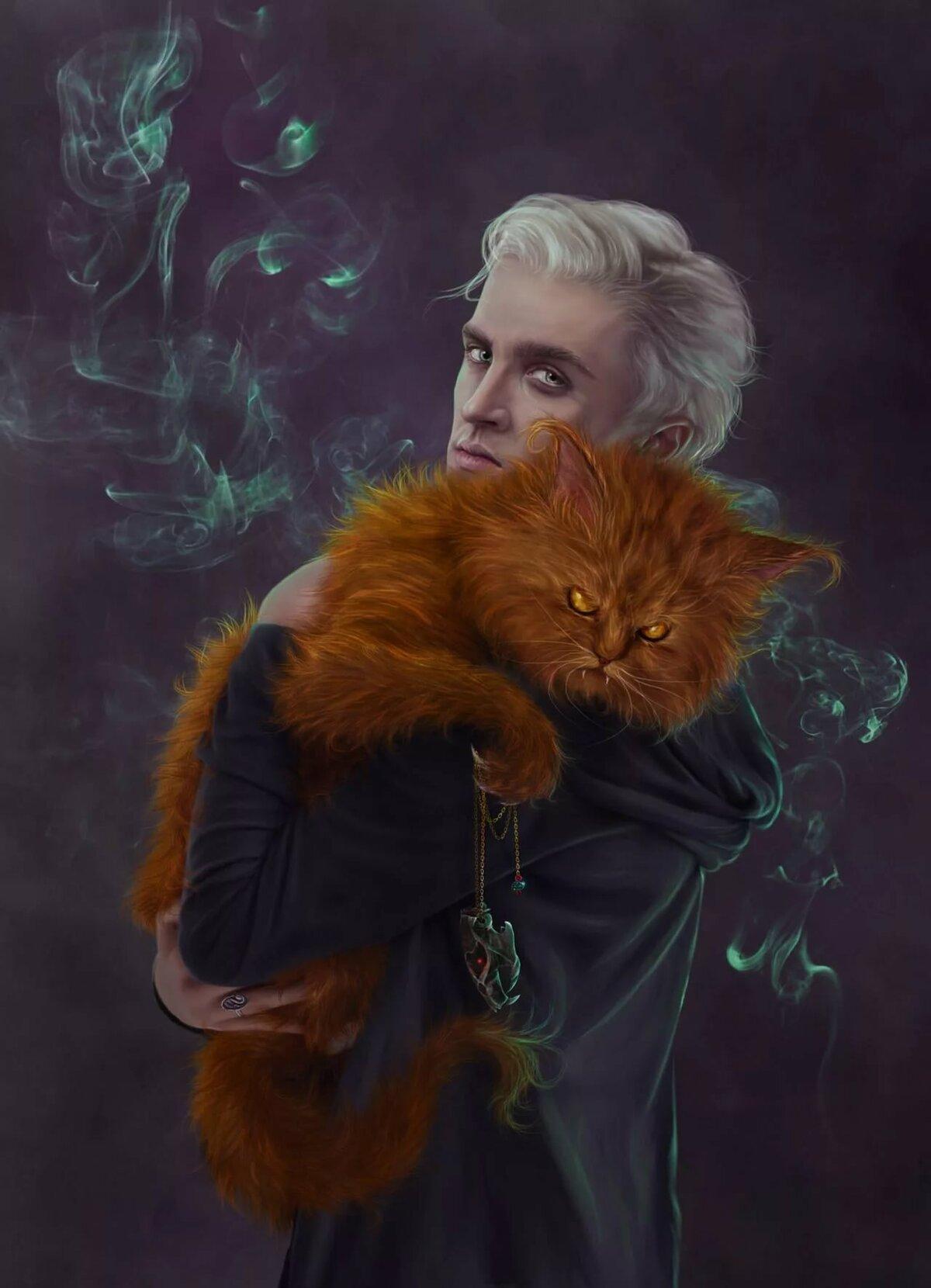 картинки кошка и гарри поттер заданный автором ёергей