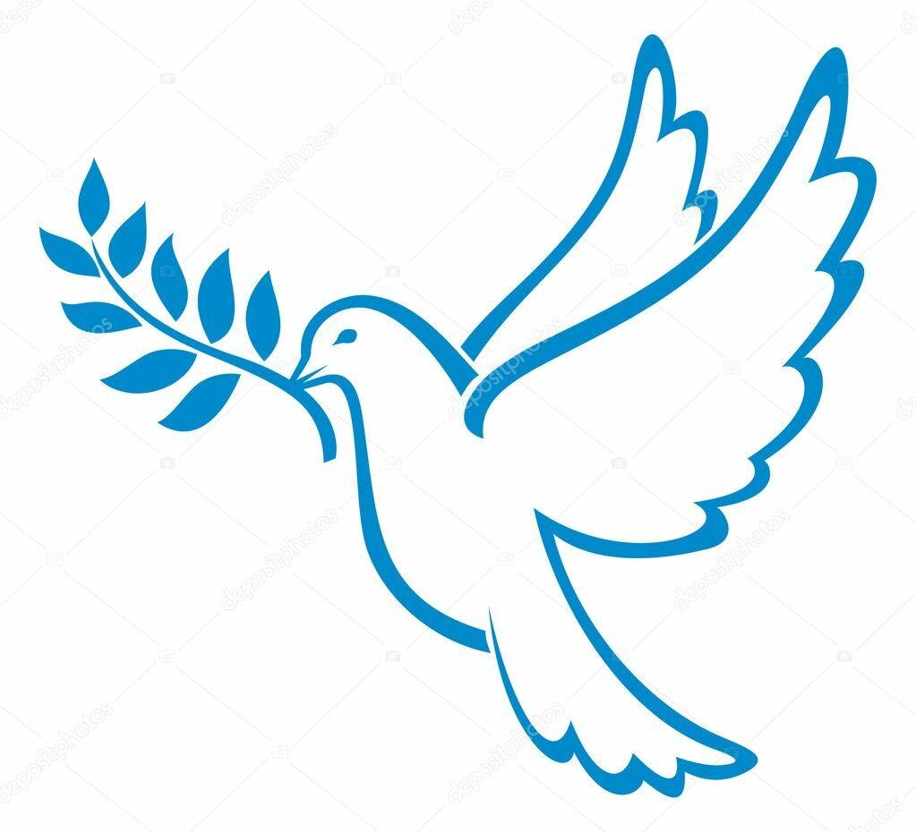 Картинки с днем мира с голубями