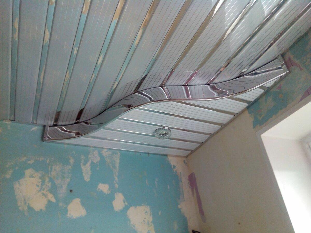 Реечный потолок №112