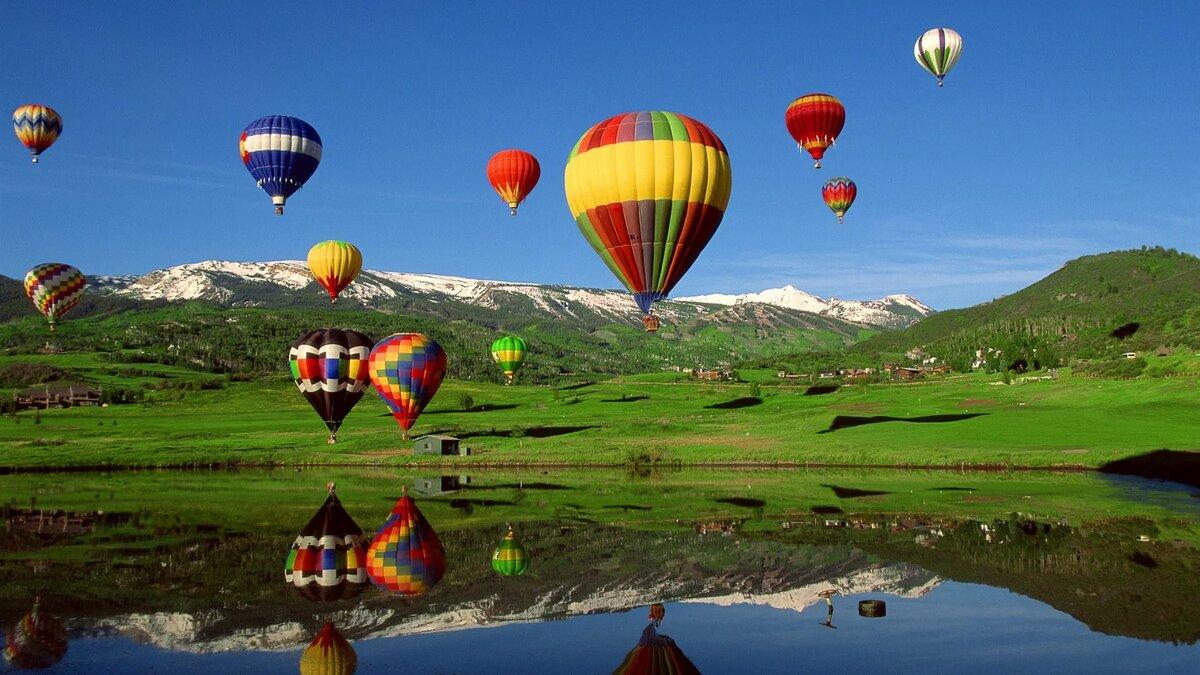 круг картинки на рабочий стол воздушные шары на весь экран нашем