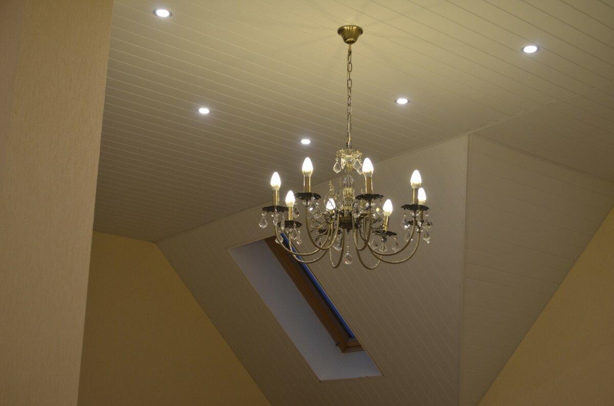 Реечный потолок №32