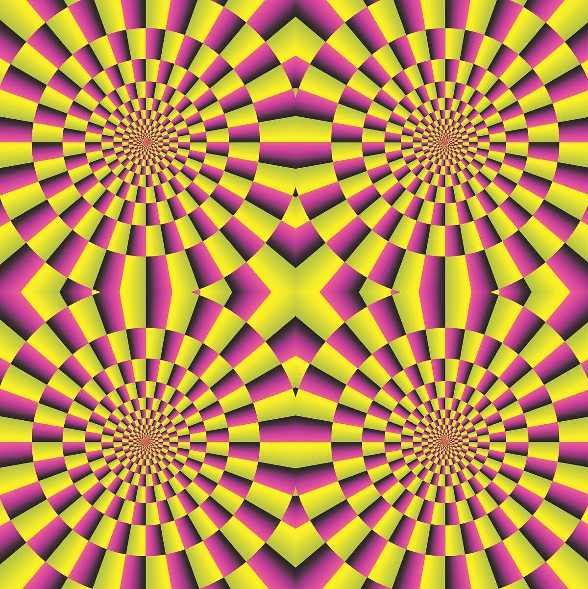 Обман зрения смотреть с пояснениями картинки
