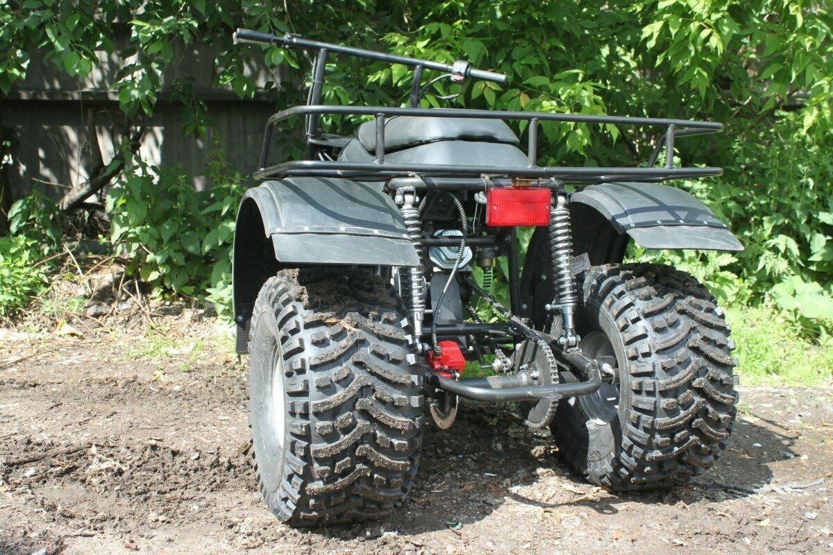 Трёхколёсный мотоболотоход Атаман Trike Power с автоматической коробкой