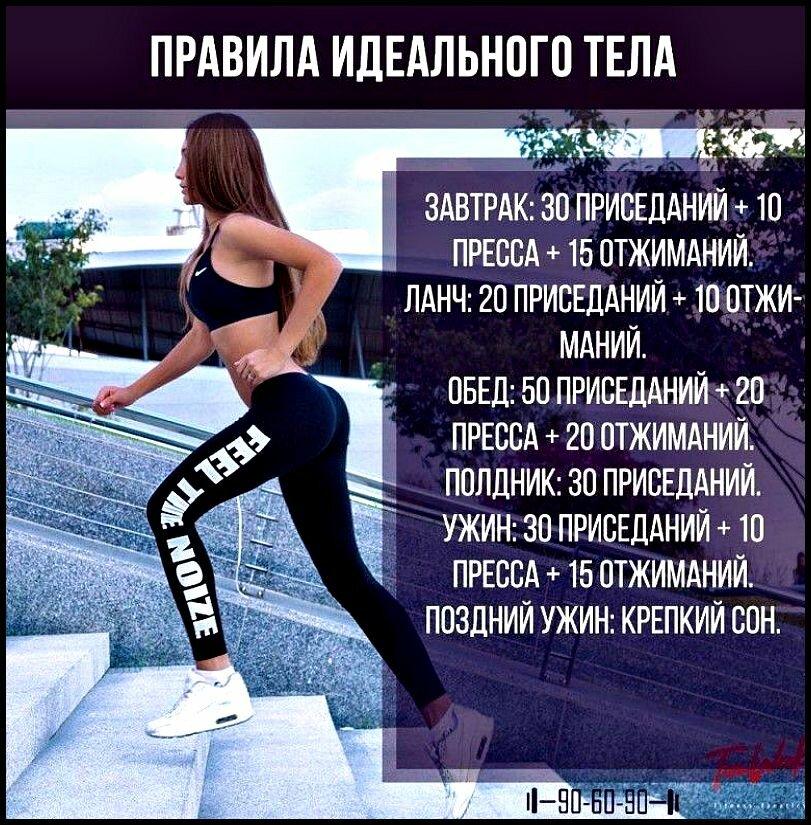 Программа Тренировок Чтобы Похудеть. План питания и тренировок для похудения за месяц