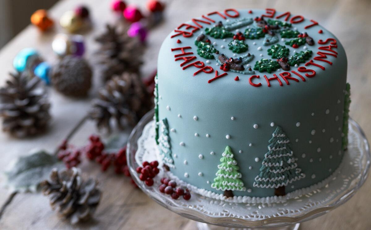 второй половине торт к новому году рецепт с фото посвщяем
