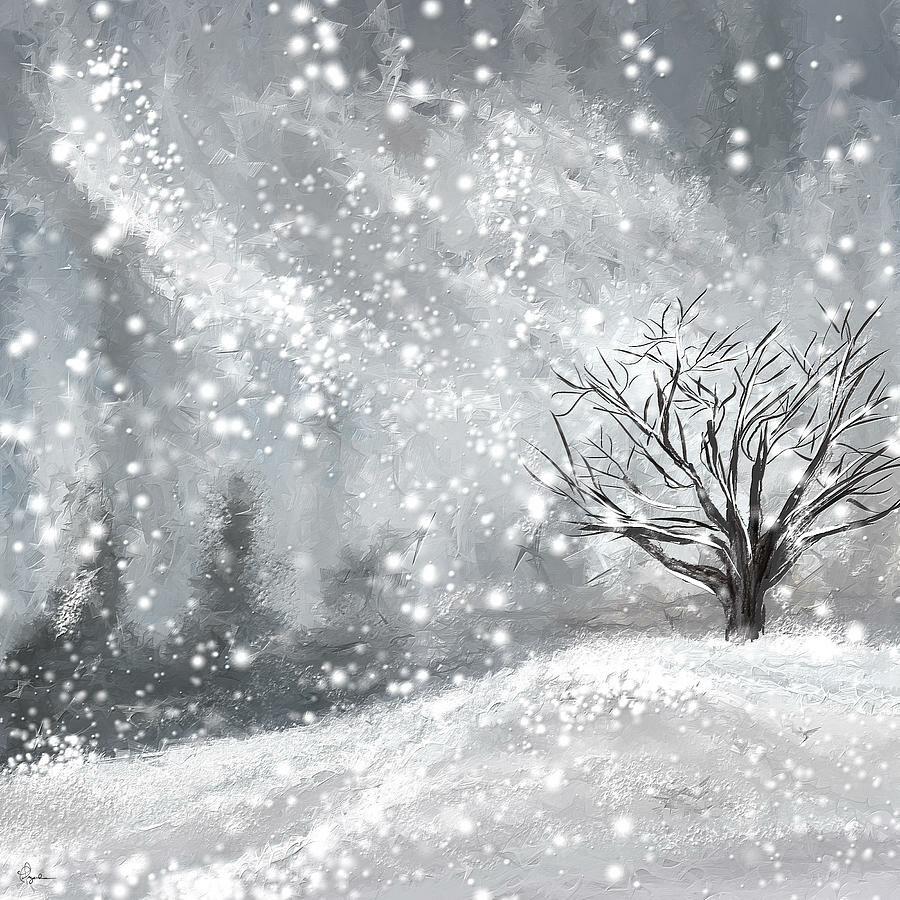 Вьюга зимой картинки
