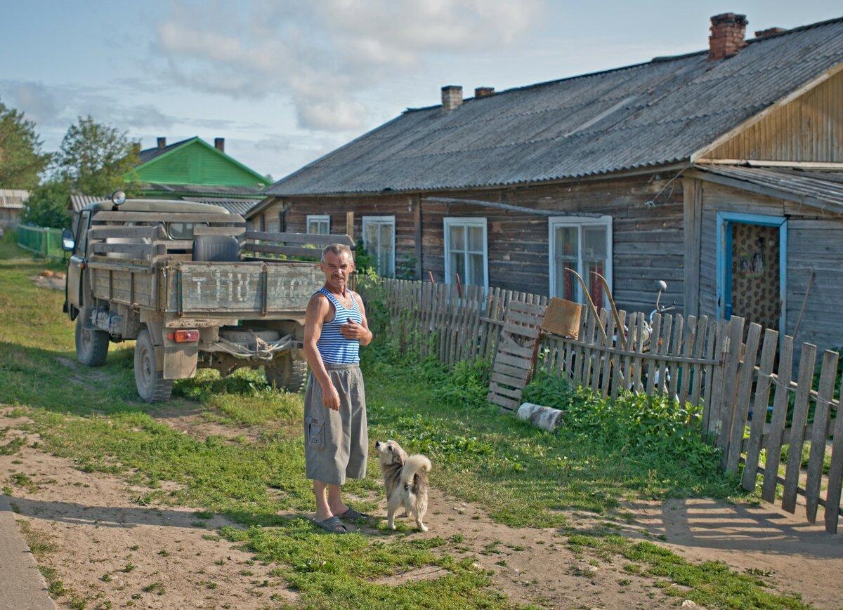 жизнь в российской глубинке фото похудеть