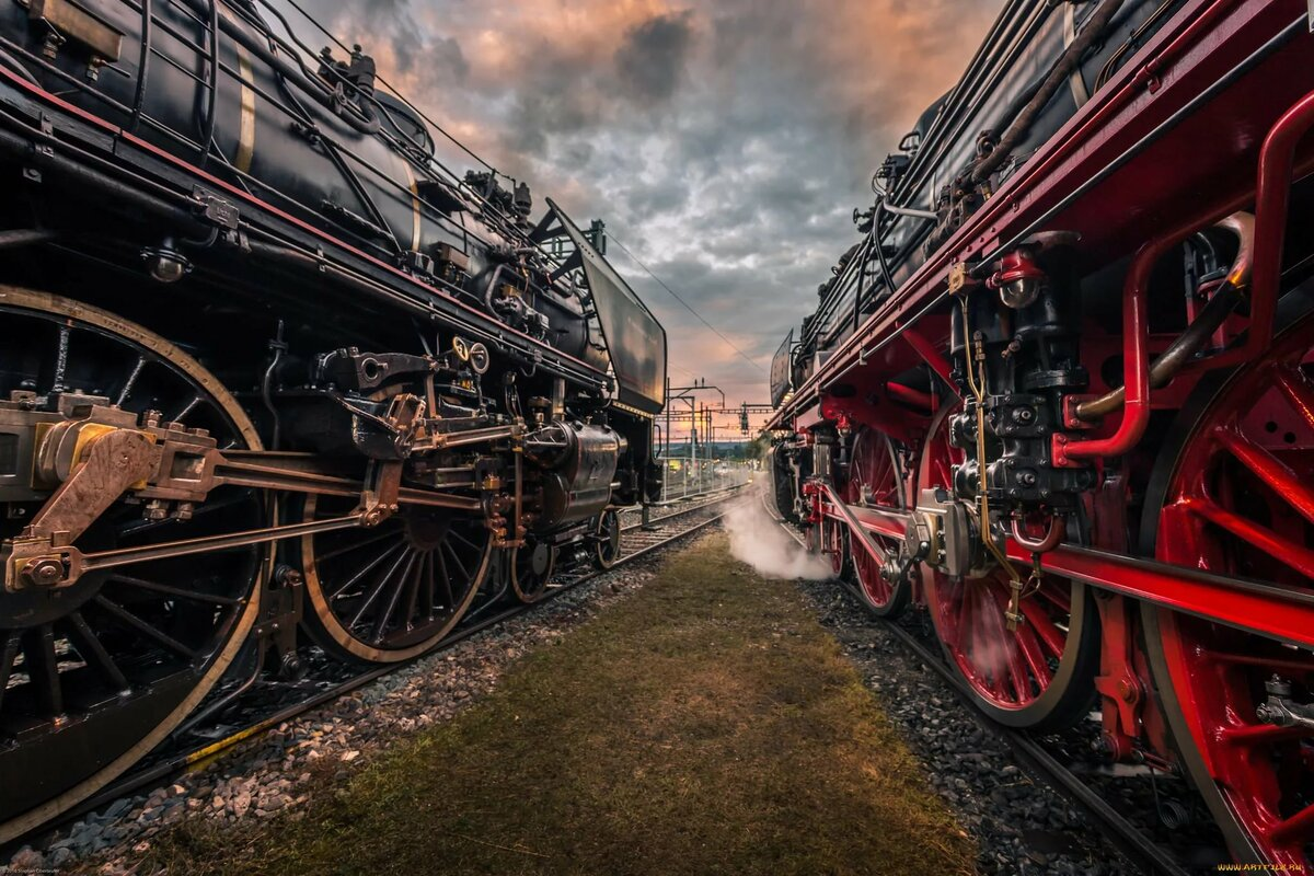 Смотреть картинки паровозов