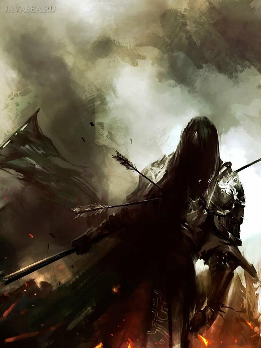 найти картинки с воинами возле