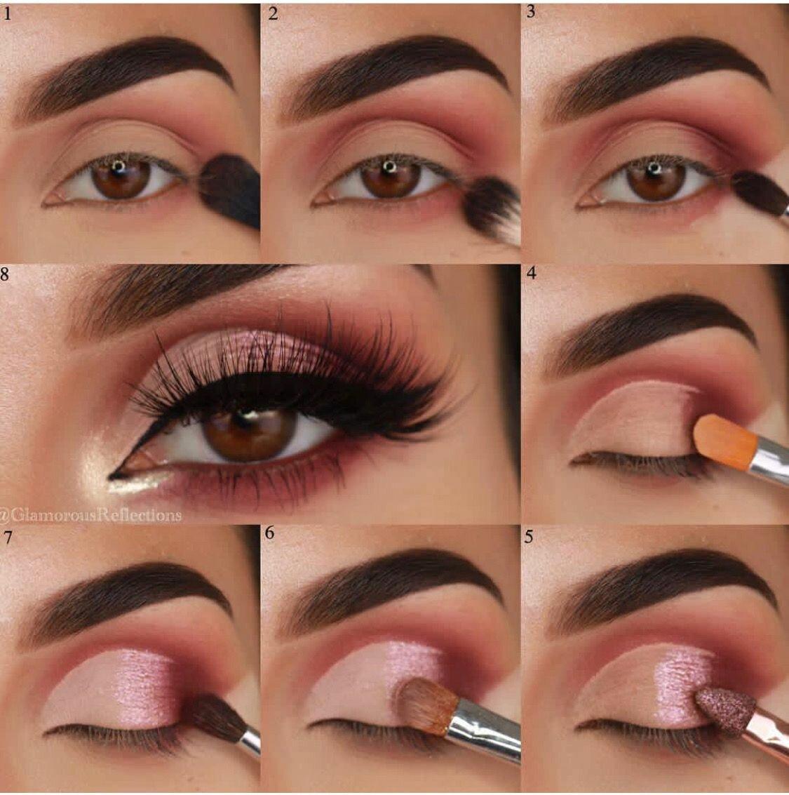 Как сделать макияж в домашних условиях фото