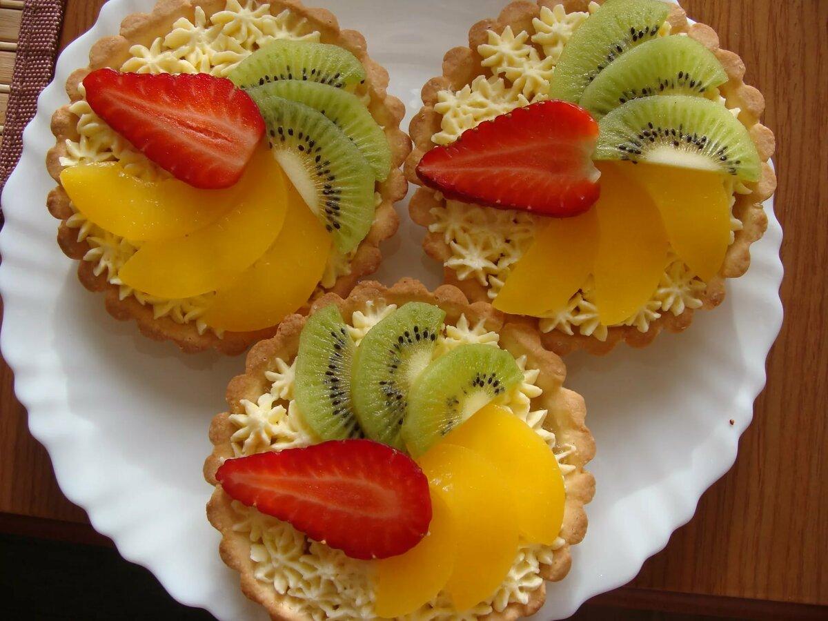 фруктовые пирожные рецепты с фото