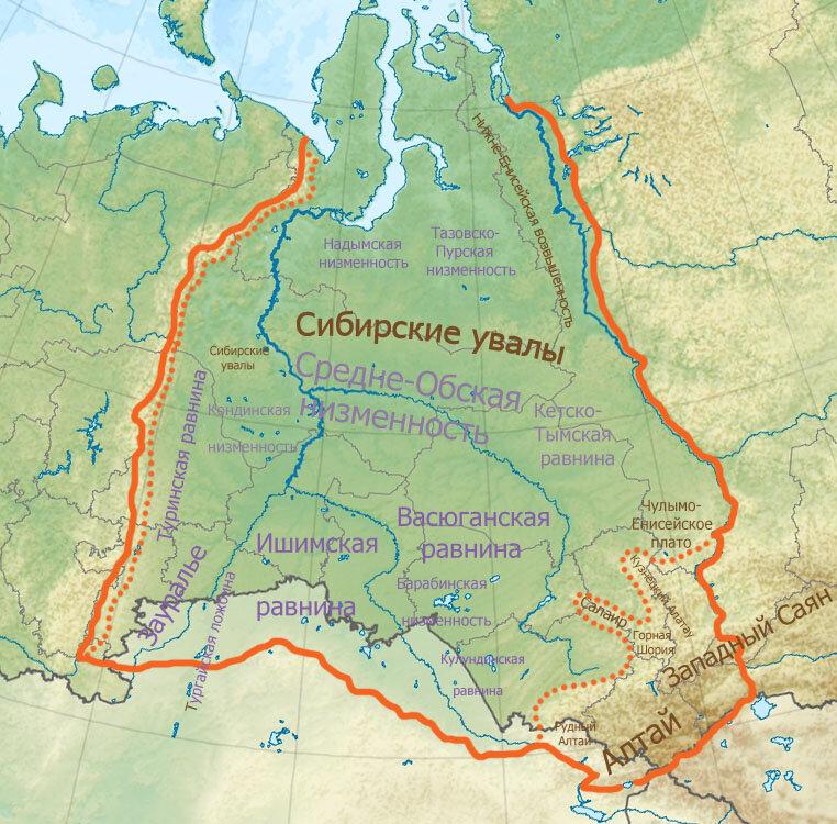 Западно сибирская равнина с картинками