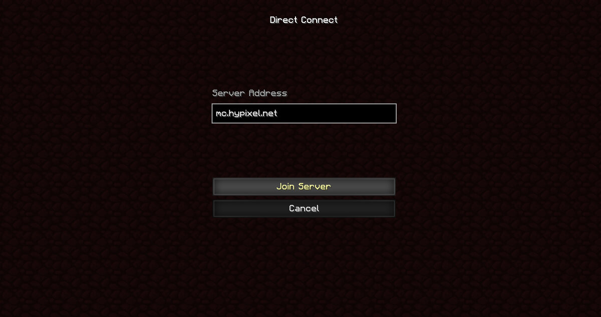 Hypixel Ip And Port
