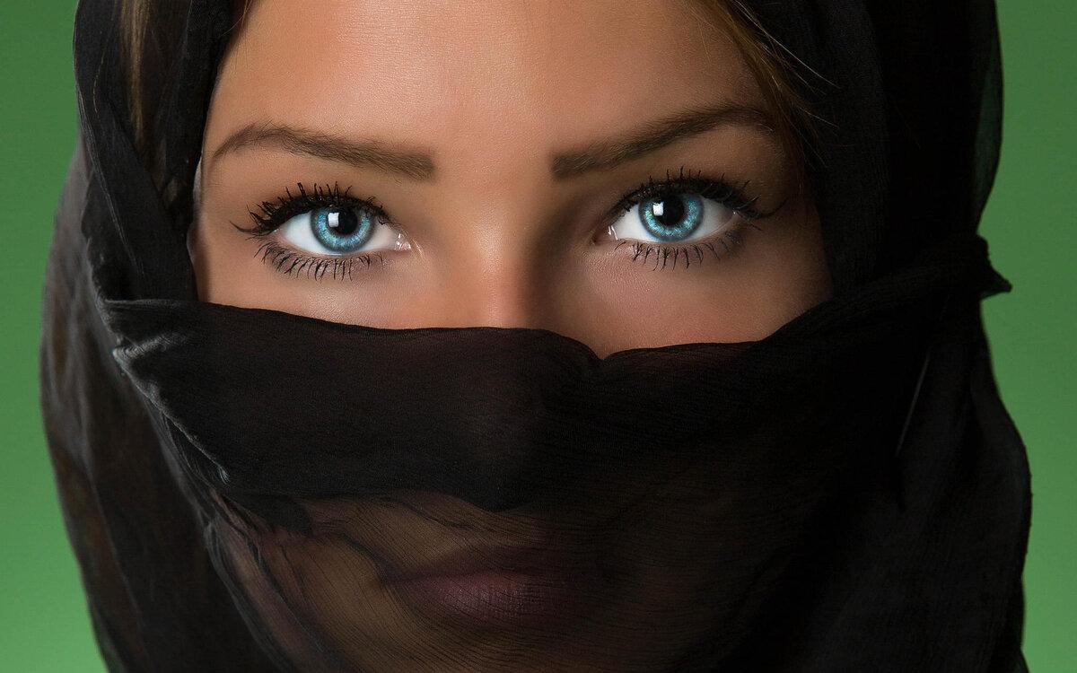 Картинки лиц восточных женщин