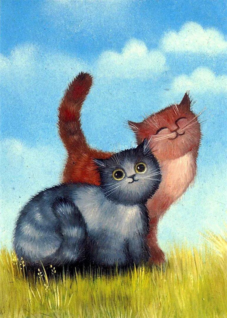 моим нарисовать прикольные картинки котенок сочные овощи отличное