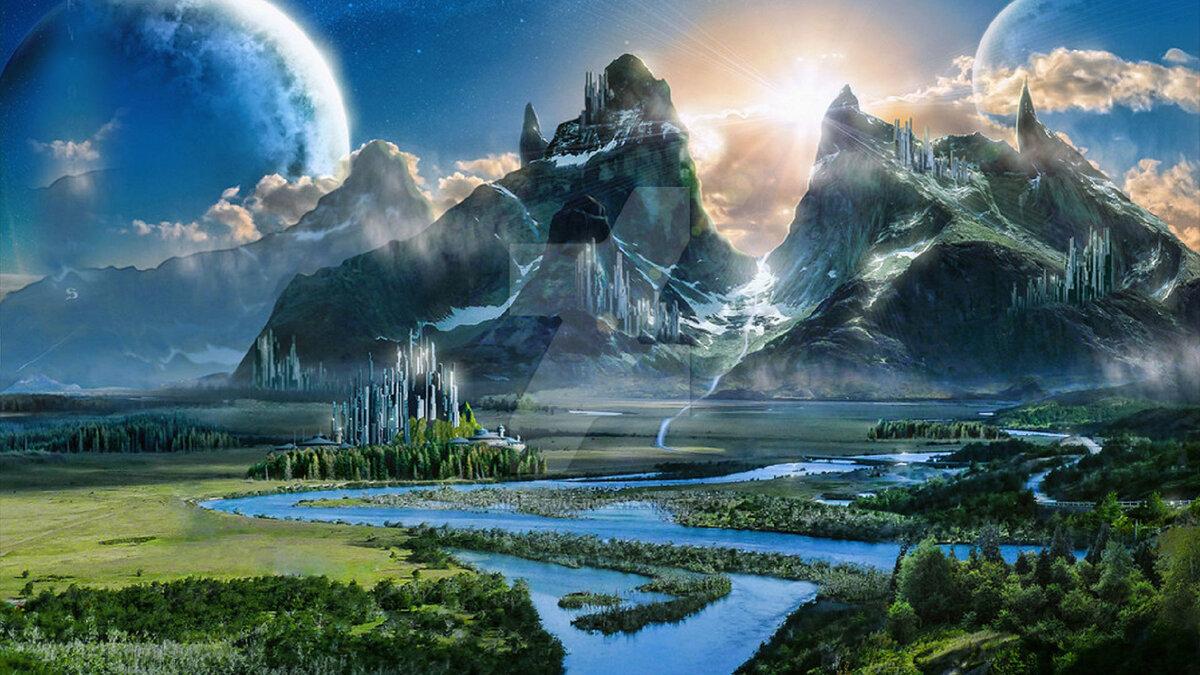 вызвало появление картинки фэнтези красивые миры нечестивцы посрамлены, призови