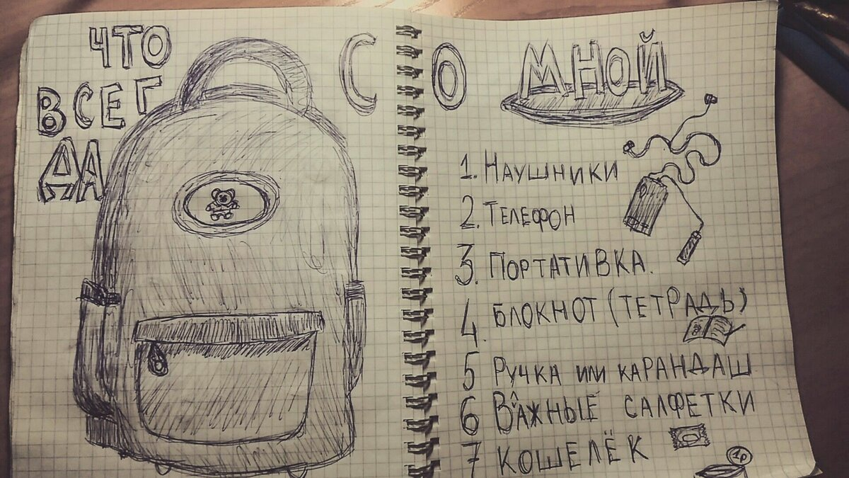 Смешные и прикольные рисунки для личного дневника