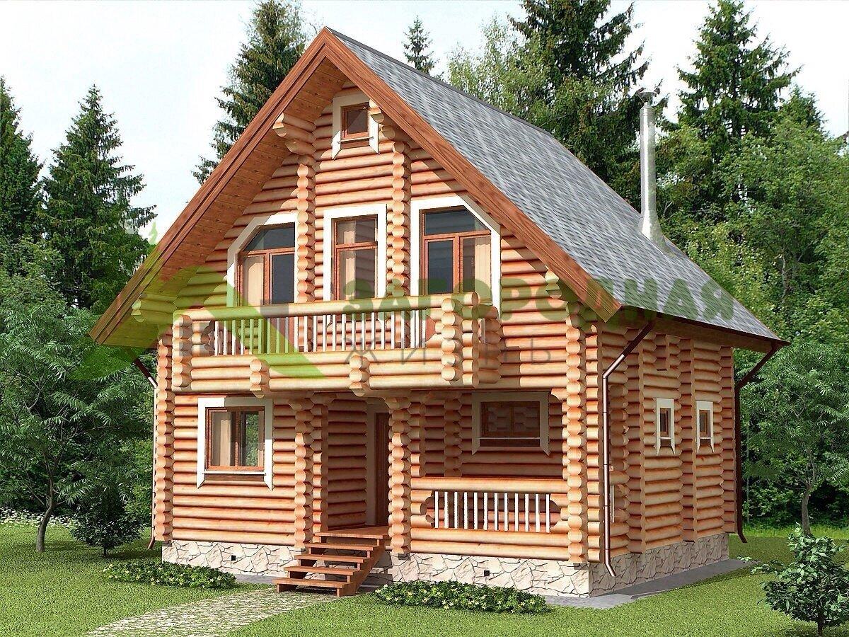 как модели домов из бревна фото крепление светодиодного