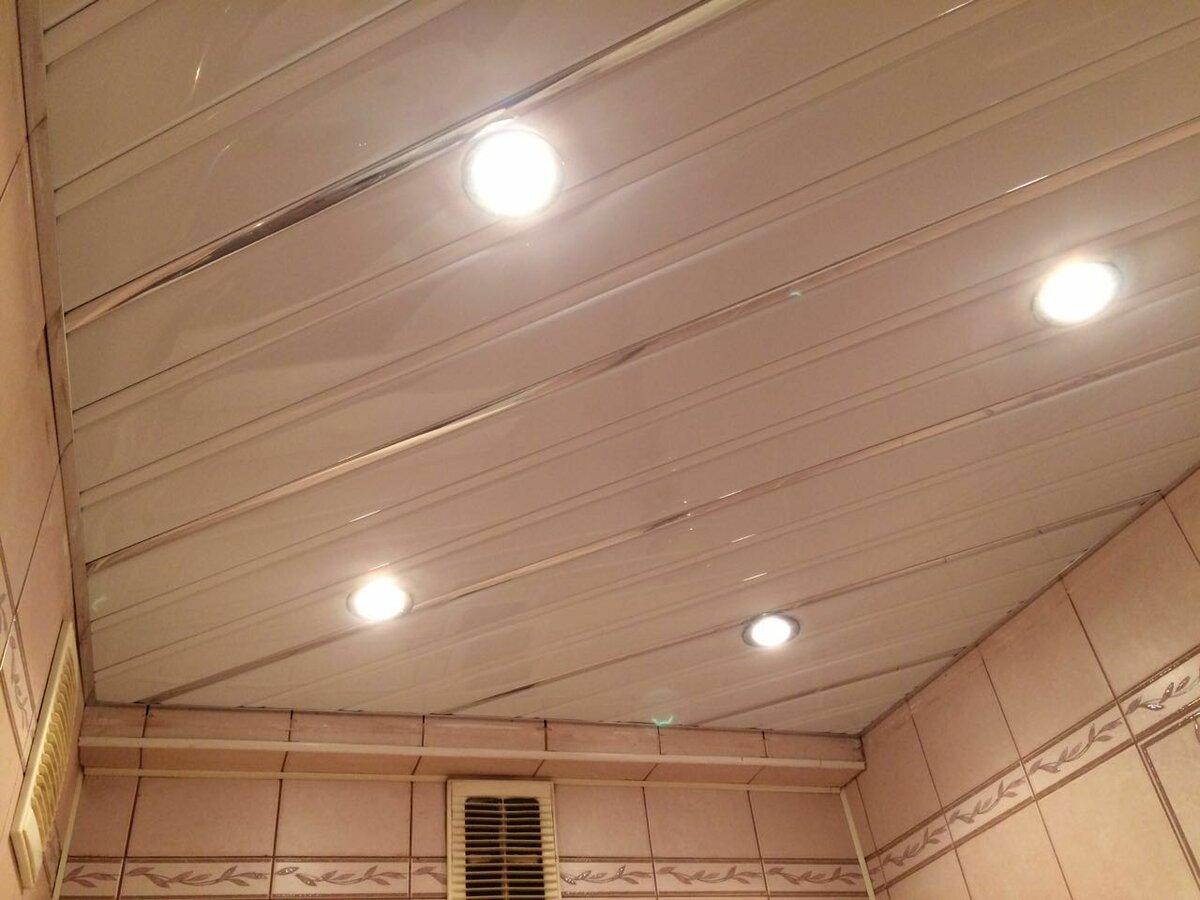 Реечный потолок №88