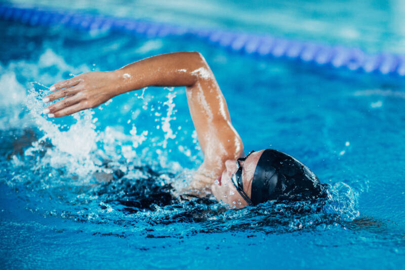 Картинки пловцов в движении