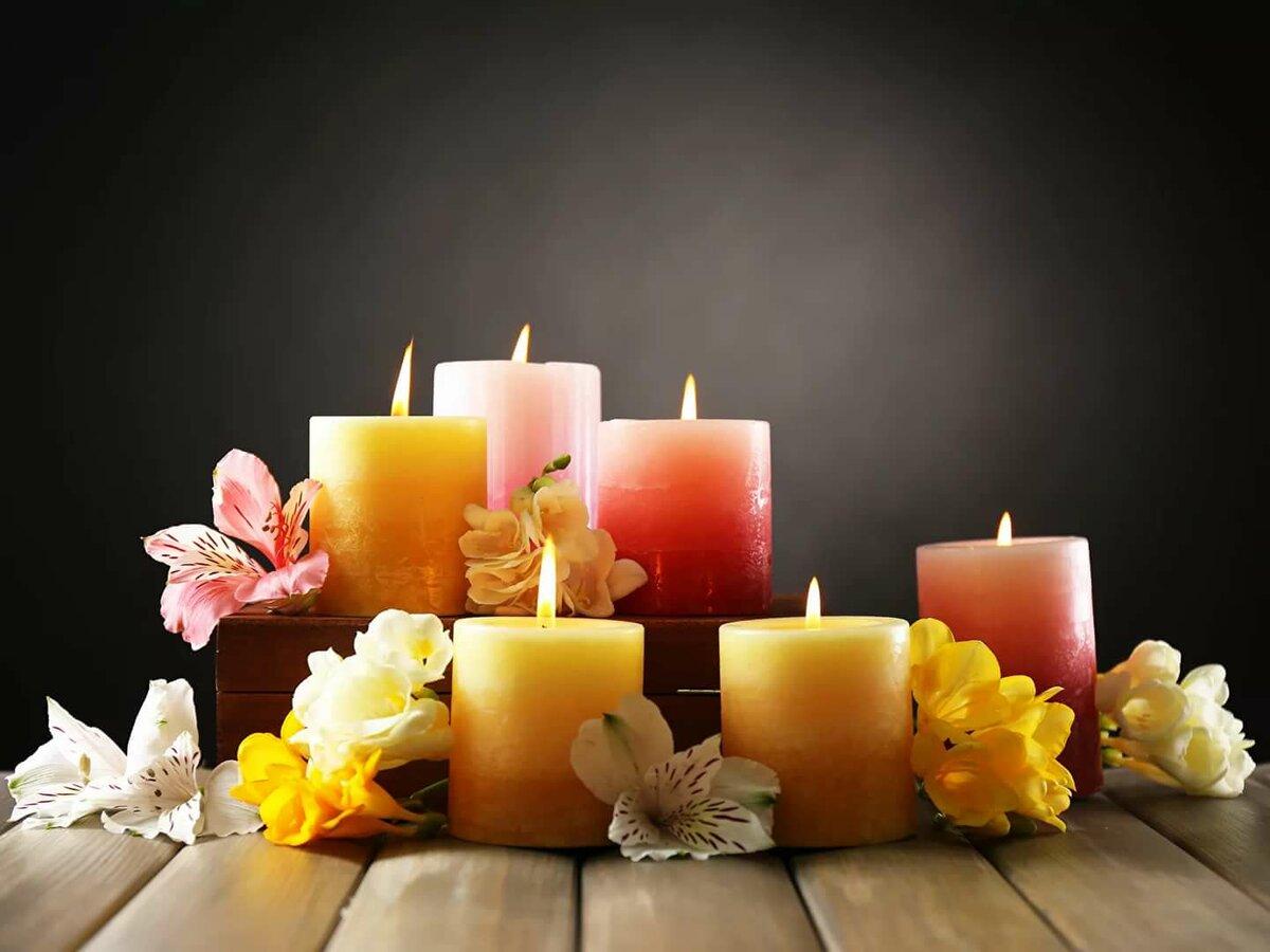 красивые свечи красивые картинки ещё ручном режиме