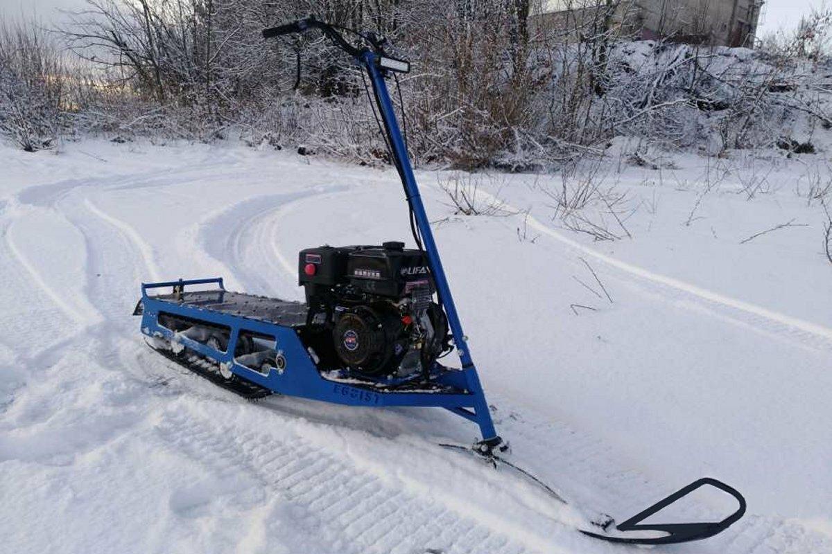 Снегоход Юкон Эгоист
