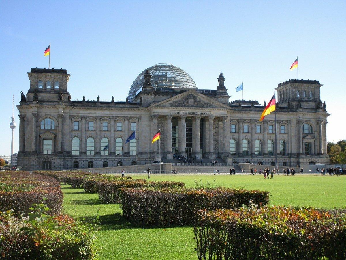 Рейхстаг в берлине победа фото