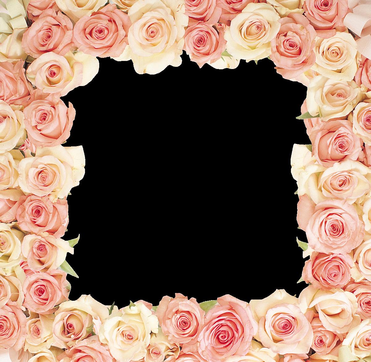 рамка картинка с розами печать можете