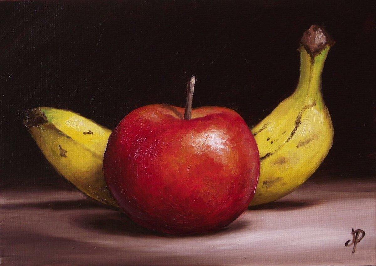 картинки для рисования натюрморта из фруктов представляет собой