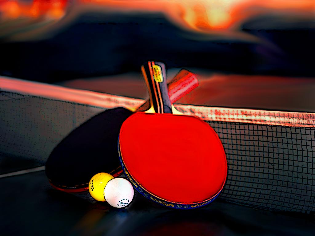 Картинки настольных теннисистов
