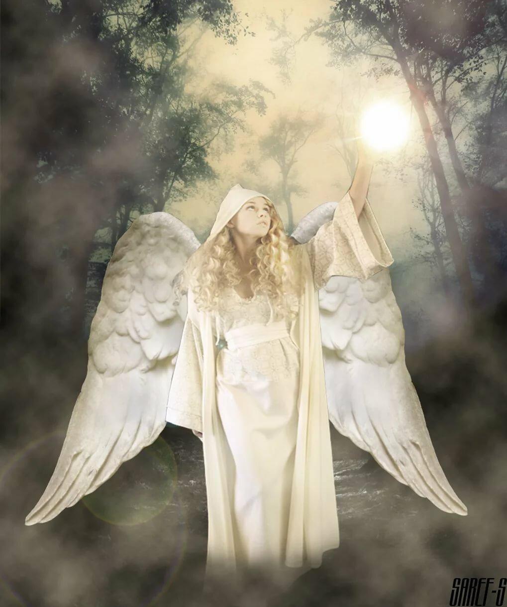 зависимости того, необычный ангел картинки мать