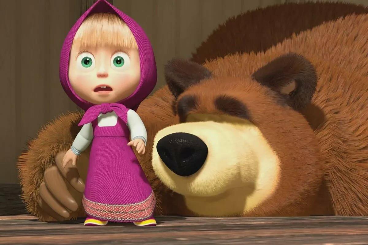 картинки про машу и медведя лль