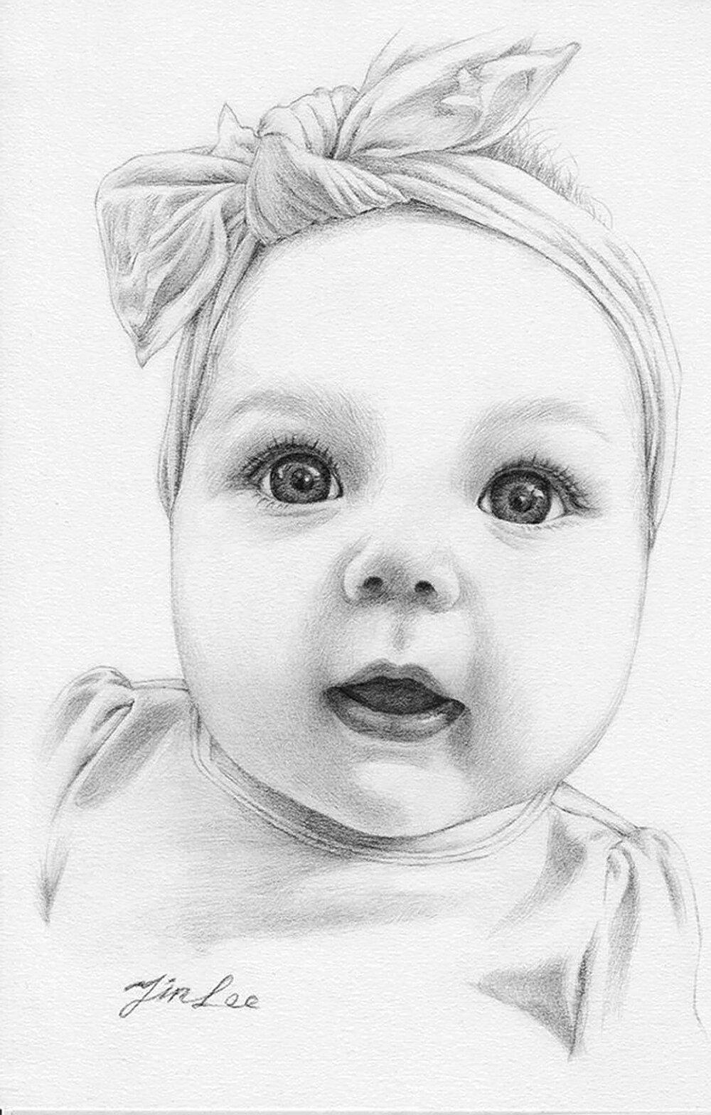 Картинки рисовать ребенка